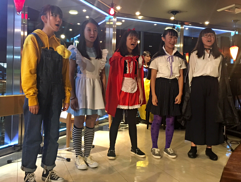 サンモリッツ栄中日ビル店 ハロウィン パーティー