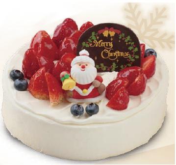 サンモリッツ クリスマスケーキ いちご